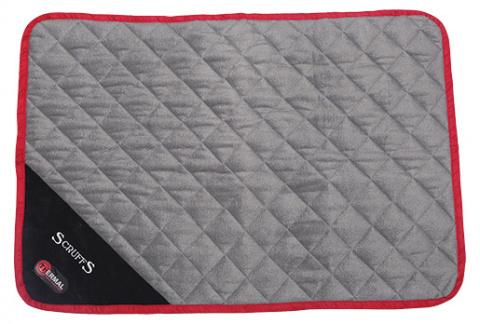Sildoša guļvieta dzīvniekiem - Scruffs Thermal Mat (S), 75 x 52 x 1 cm, black title=