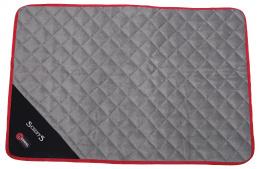 Sildoša guļvieta dzīvniekiem - Scruffs Thermal Mat (M), 90 x 60 x 1 cm, black