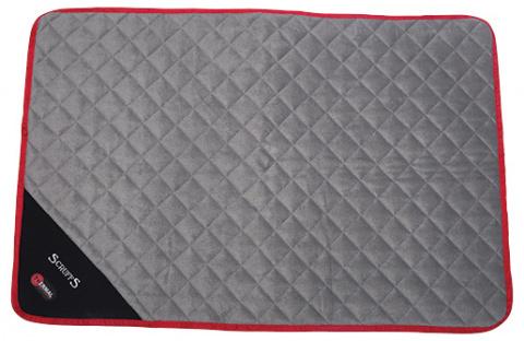Sildoša guļvieta dzīvniekiem - Scruffs Thermal Mat (L), 105 x 70 x 1 cm, black title=