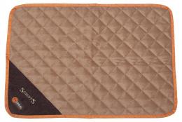 Спальное место для собак - Scruffs Thermal Mat (S), 75*52*1cm, коричневый/бежевый