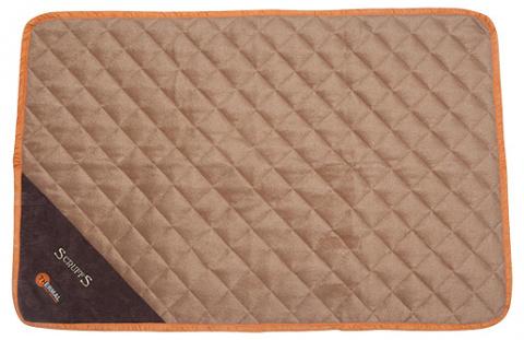Sildoša guļvieta dzīvniekiem - Scruffs Thermal Mat (M), 90 x 60 x 1 cm, tan title=