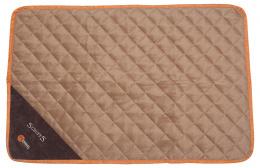 Спальное место для собак - Scruffs Thermal Mat (M), 90*60*1 cm, коричневый/бежевый