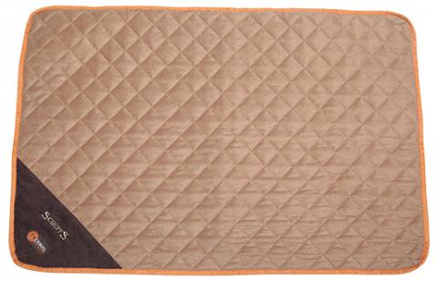 Обогревающая спальное место для животных - Scruffs Thermal Mat (L), 105 x 70 x 1 см, коричневый/бежевый title=