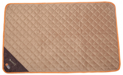 Sildoša guļvieta dzīvniekiem - Scruffs Thermal Mat (XL), 120 x 75 x 1 cm, tan title=
