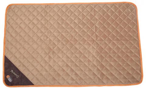 Спальное место для собак - Scruffs Thermal Mat (XL), 120*75*1 cm, коричневый/бежевый