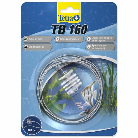 Аксессуар для аквариума -  Tetra щетка для чистки аквариумного оборудования  / длина 1.6m title=