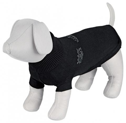 Джемпер для собак - Kingston Pullover, S, 40 cm, черный title=