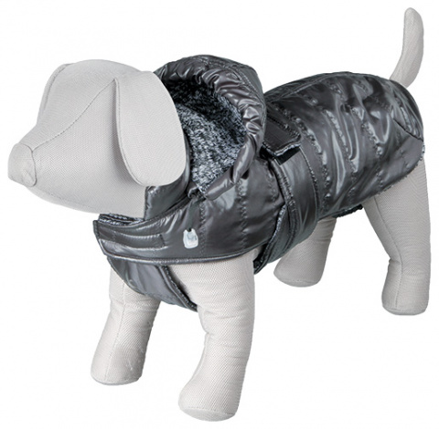 Одежда для собак - Trixie Chianti Winter Coat, XS, 30 cm, цвет - серый title=