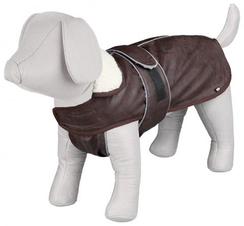 Apģērbs suņiem - Trixie, Chambery coat, M, 50 cm, brūna  title=