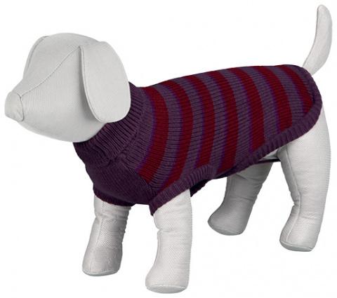 Джемпер для собак - Brantford Pullover, S, 33cm, бордовый title=