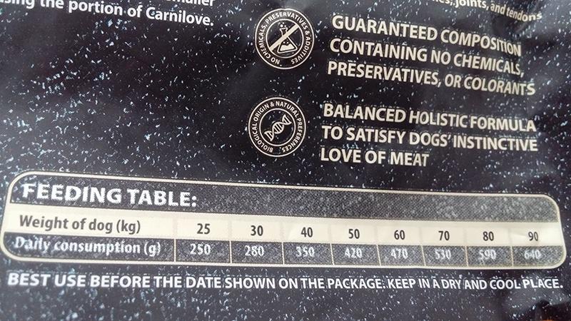 Barība suņiem - CARNILOVE Salmon and Turkey for Large Breed Adult, 1,5kg