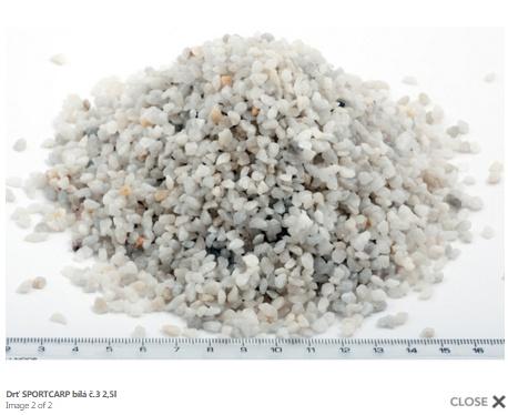 Grunts akvārijam - akmeņi 3 (balts) 3,3kg