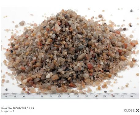 Grunts akvārijam - upes smiltis 2 3,3kg