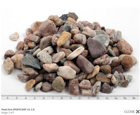 Grunts akvārijam - upes smiltis 8 3,3kg