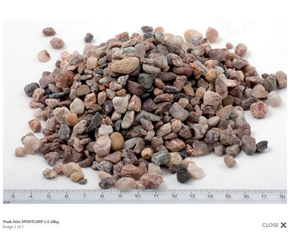 Grunts akvārijam - upes smiltis 4 10kg