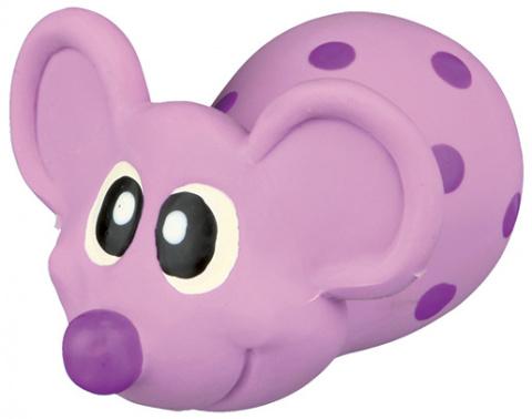 Rotaļlieta suņiem – TRIXIE Mouse, Latex, 8 cm title=