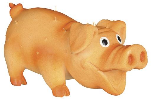 Rotaļlieta suņiem - TRIXIE Bristle Pig, Latex, 10cm
