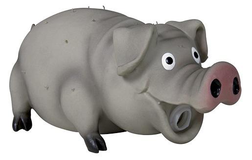 Игрушка для собак – TRIXIE Bristle Pig, Latex, 21 см