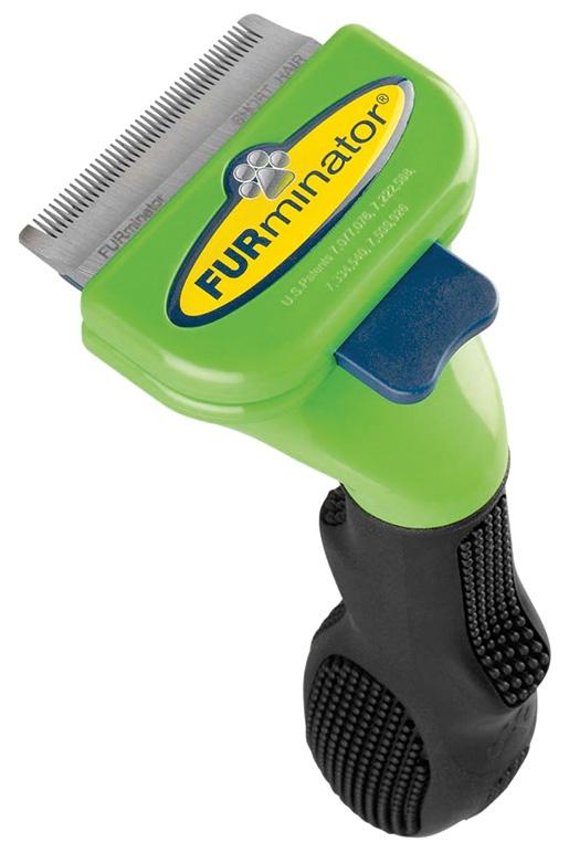 Ķemme suņiem - FURminator deShedding tool, hair short, S + Bezūdens aerosols