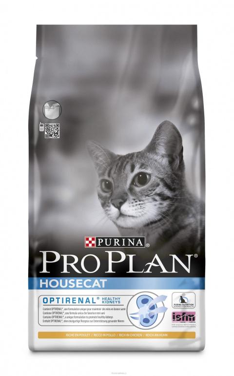 Barība kaķiem - Pro Plan Cat Housecat, 1,5 kg