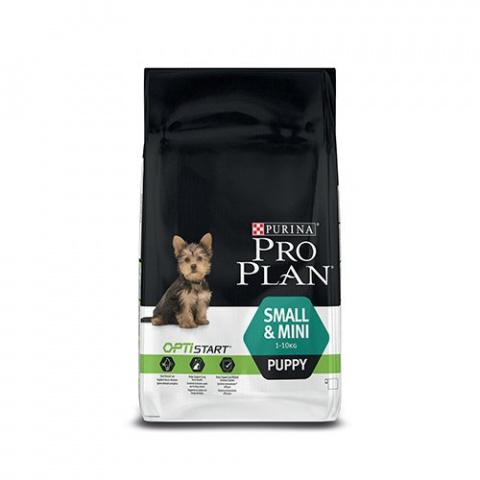 Barība kucēniem - Pro Plan Small & Mini Puppy Chicken, 3 kg