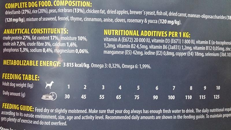 Barība suņiem - ONTARIO Adult Mini Lamb & Rice, 0,75 kg