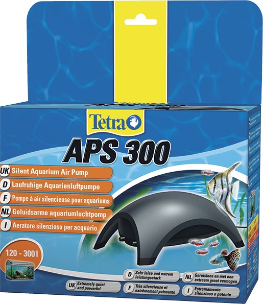 Kompresors akvārijam - Tetra Tec APS 300, melns