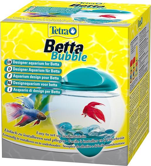 Аквариум - Tetra Betta Bubble, 1.8l, синий