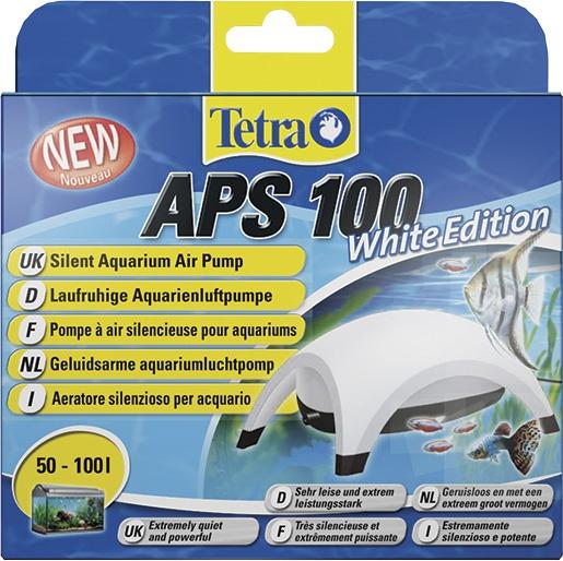 Kompresors akvārijam - Tetra APS 100, balts