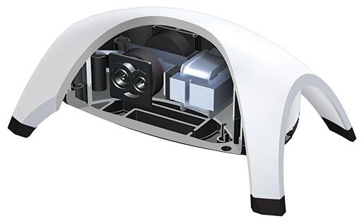 Kompresors akvārijam - Tetra Tec APS 300, balts