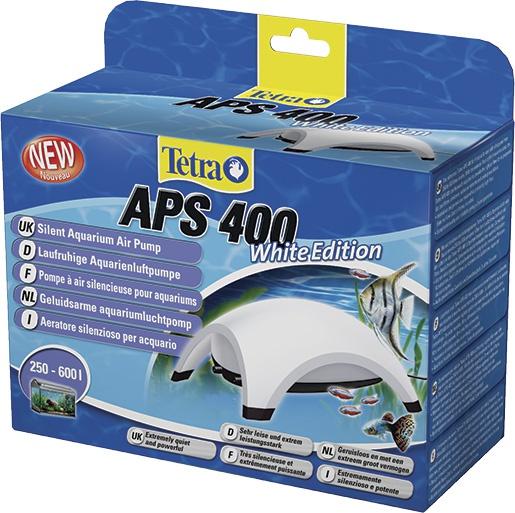 Kompresors akvārijam - Tetra Tec APS 400, balts