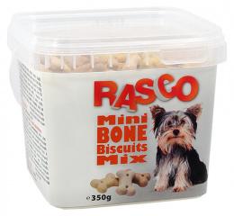 Лакомство для собак - Rasco Mini Bone Biscuits Mix, 350g