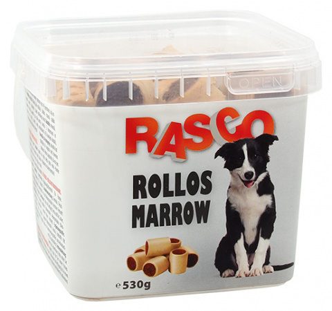 Gardums suņiem - Rasco Rollos Marrow, 530 g