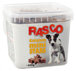 Gardums suņiem - Rasco Calcium Mini Stars, 600 g