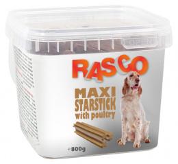 Лакомство для собак - Rasco Maxi Starsticks with poultry, 800 г