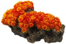 Декор для аквариума - Aqua Excellent, Sea Coral, orange, 16 x 9,5 x 7 см