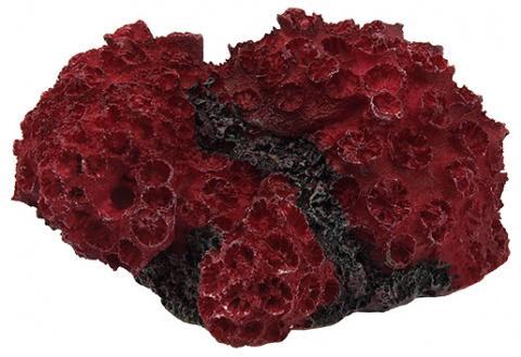 Dekors akvārijam - Aqua Excellent, Sea Coral, 11*9.6*5.3 cm, krāsa - sarkana