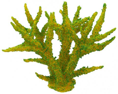 Dekors akvārijam - Aqua Excellent Sea Coral, Soft Green, 16 x 12,5 x 13,5 cm title=