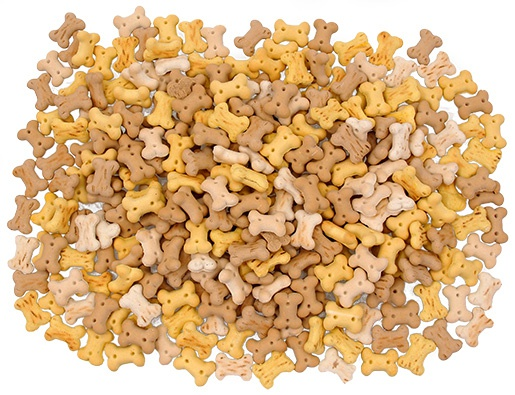 Лакомство для собак - Rasco Mini Bone Biscuits Mix, 350 г