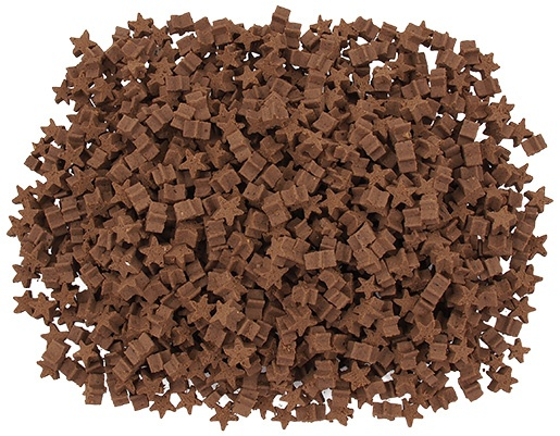 Лакомство для собак - Rasco Calcium Mini Stars, 600 g