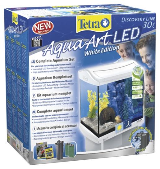Аквариум - TETRA AquaArt LED 30l, white