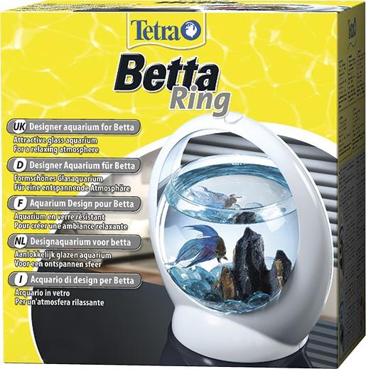 Akvārijs - Tetra Betta Ring, 1.8l, balts