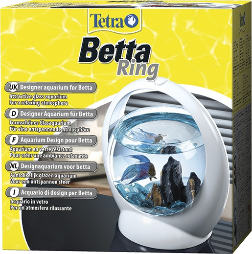 Аквариум - Tetra Betta Ring, 1.8l, белый