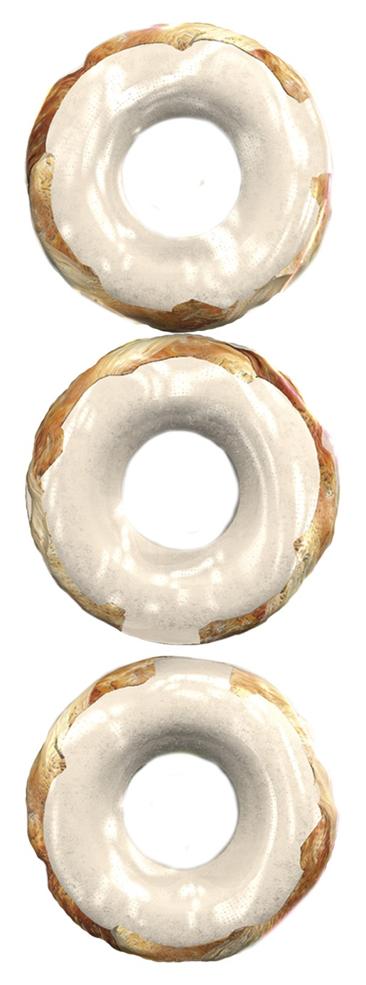 Gardums suņiem - 8in1 Delights rings S, 3 gab.