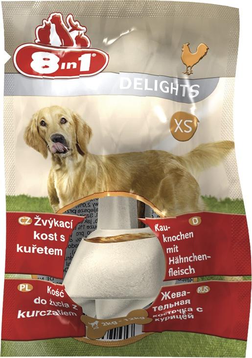 Лакомство для собак - 8in1 Delights XS box, 1 шт.