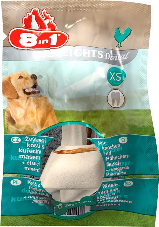 Лакомство для собак - 8in1 Dental Delights XS box, 1 шт.