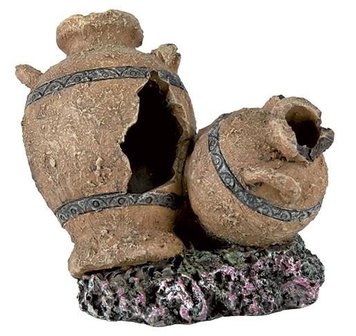 Декор для аквариумов - TRIXIE Antique Pots and Amphorae, Assortment, 8см