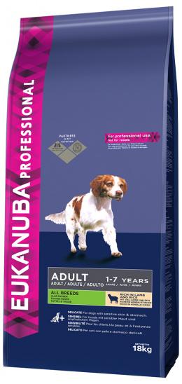 Корм для собак - Eukanuba Adult Lamb & Rice 18kg