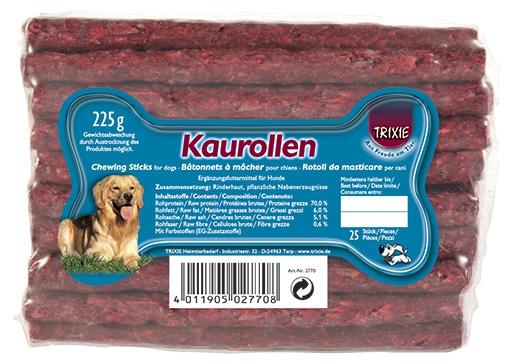 Лакомство для собак - Комплект палочек красный 25шт