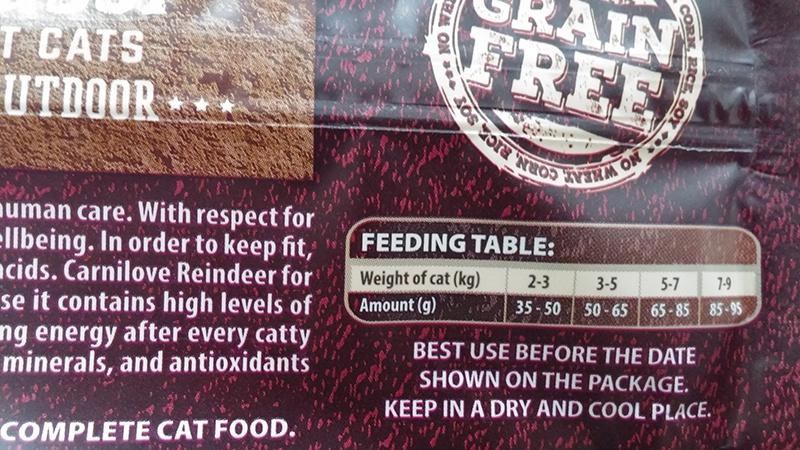 Barība kaķiem - CARNILOVE Adult Cats Energy and Outdoor Reindeer, 2 kg